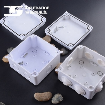 Outdoor Indoor Distribution Monitoring Waterproof Junction Box Electric Enclosure Box