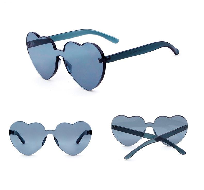 2018 óculos de Sol Das Mulheres Óculos De Sol da Forma Do Coração Óculos De  Sol 388e5b8e40