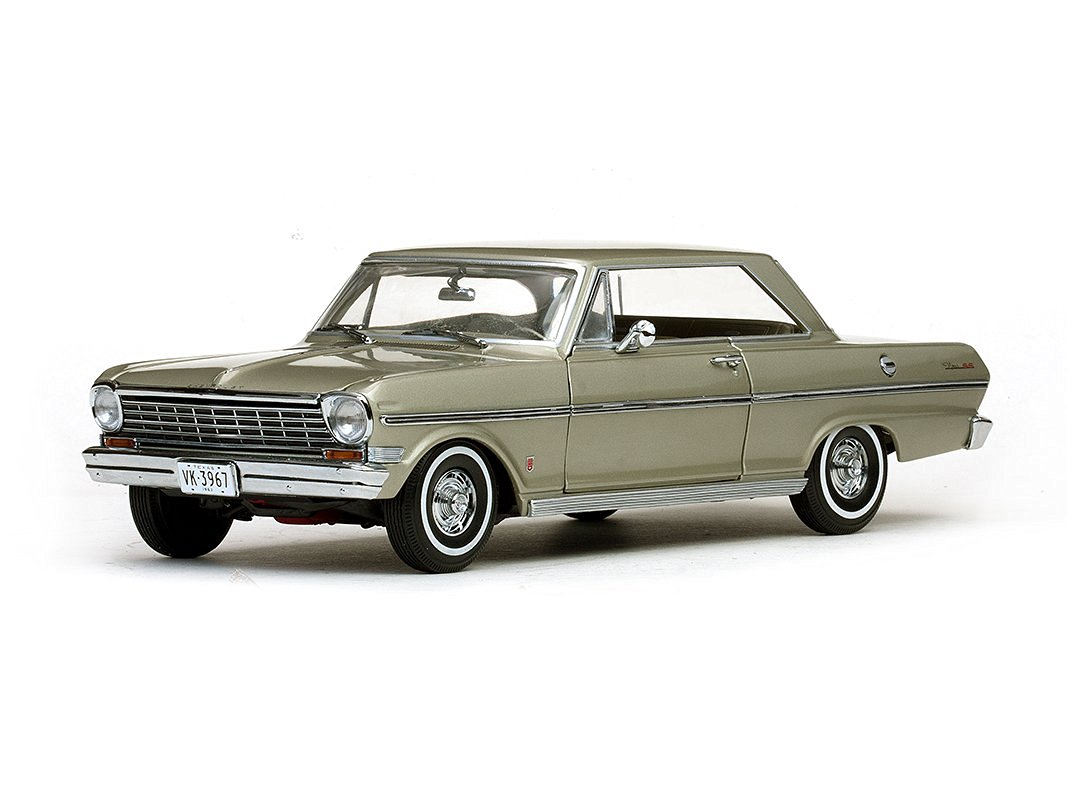 Get Quotations · 1963 Chevrolet Nova Hard Top Autumn Gold 1/18 by Sunstar  3967