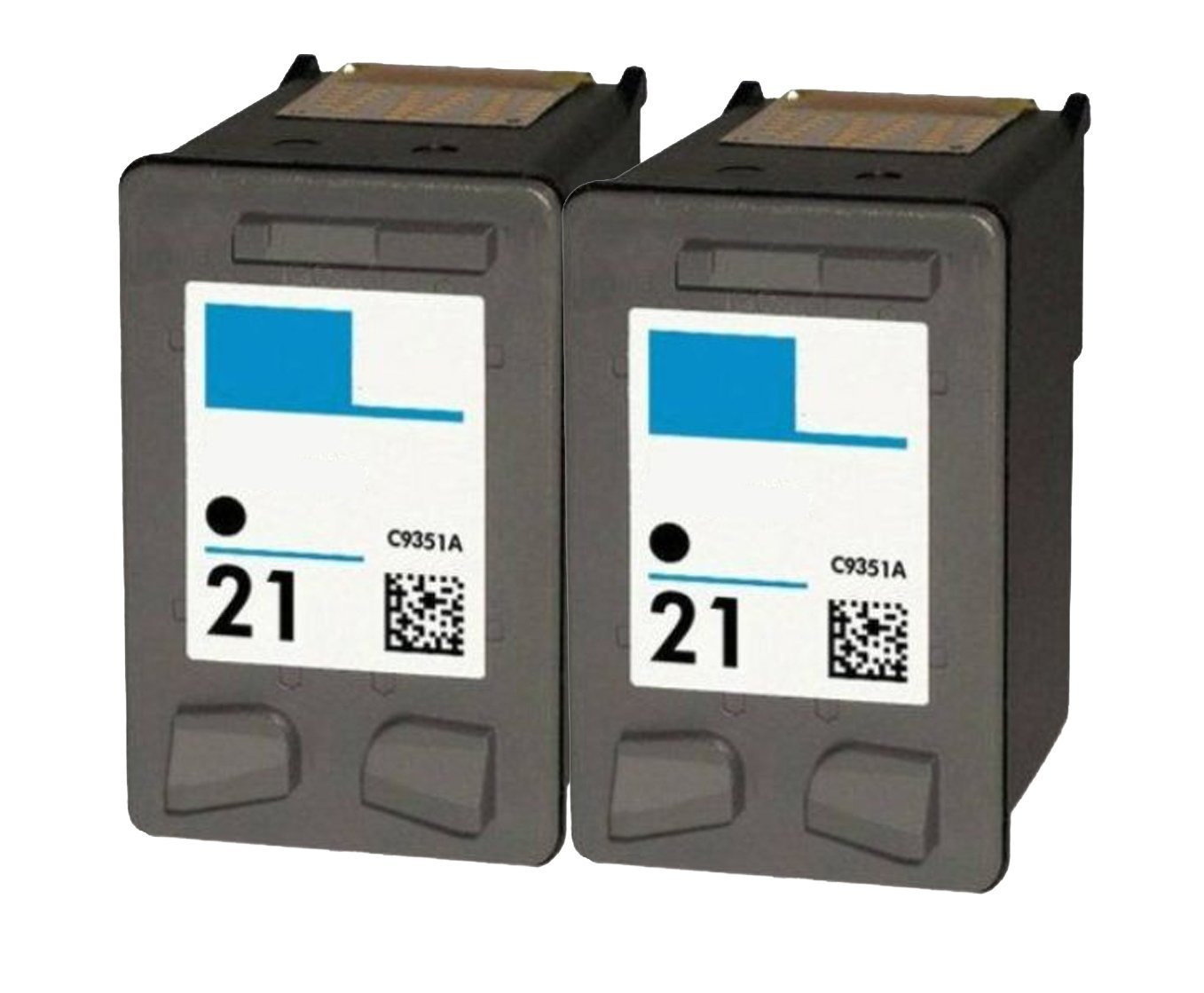 Get Quotations · OCProducts Refilled HP 21 Ink Cartridge Replacement for HP  PSC 1410 Deskjet F4180 F2280 D2360 D1560