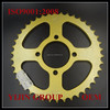 good quality motorcycle AX100 cnc roller chain and sprocket