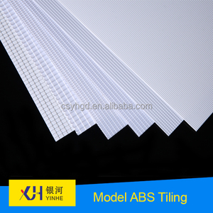 scale model material ABS plastic roof tile