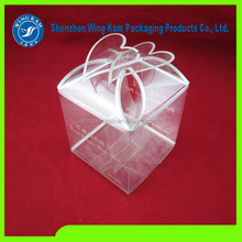 Christmas gifts Plastic box fold Plastic package promote Plastic package box for Christmas gifts with logo printing