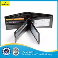 13588 high-quality new style PU leather rfid wallet