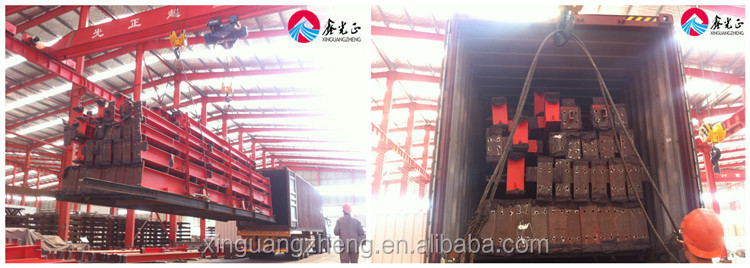 Customized prefabricated industrial H steel structure warehouse