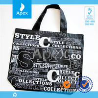 thin section reusable supermarket shopping bag