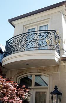 Modern Balcony Railing Designs Steel Grill