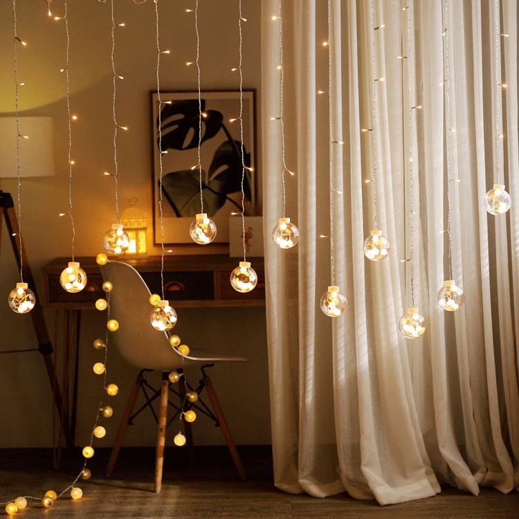 2019 latest design safety led Icicle light curtain for Party Festival Wedding Decoration
