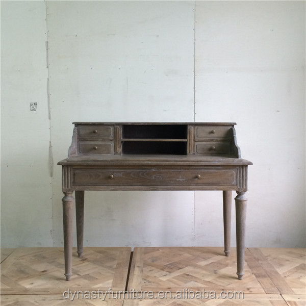 Vintage unique furniture wooden simple dressing table with modern designs