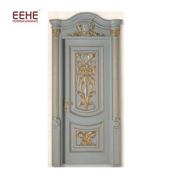 China Classic Caving Solid Teak Wood Main Door Designmodels Buy