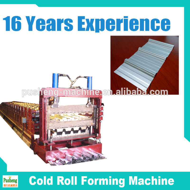 flat or glazed roof making machine