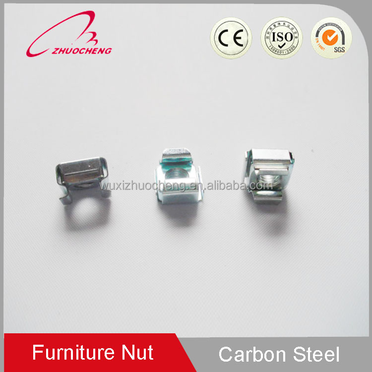 Hight Quality Hot Sale Carbon Steel square weld lock cage nuts