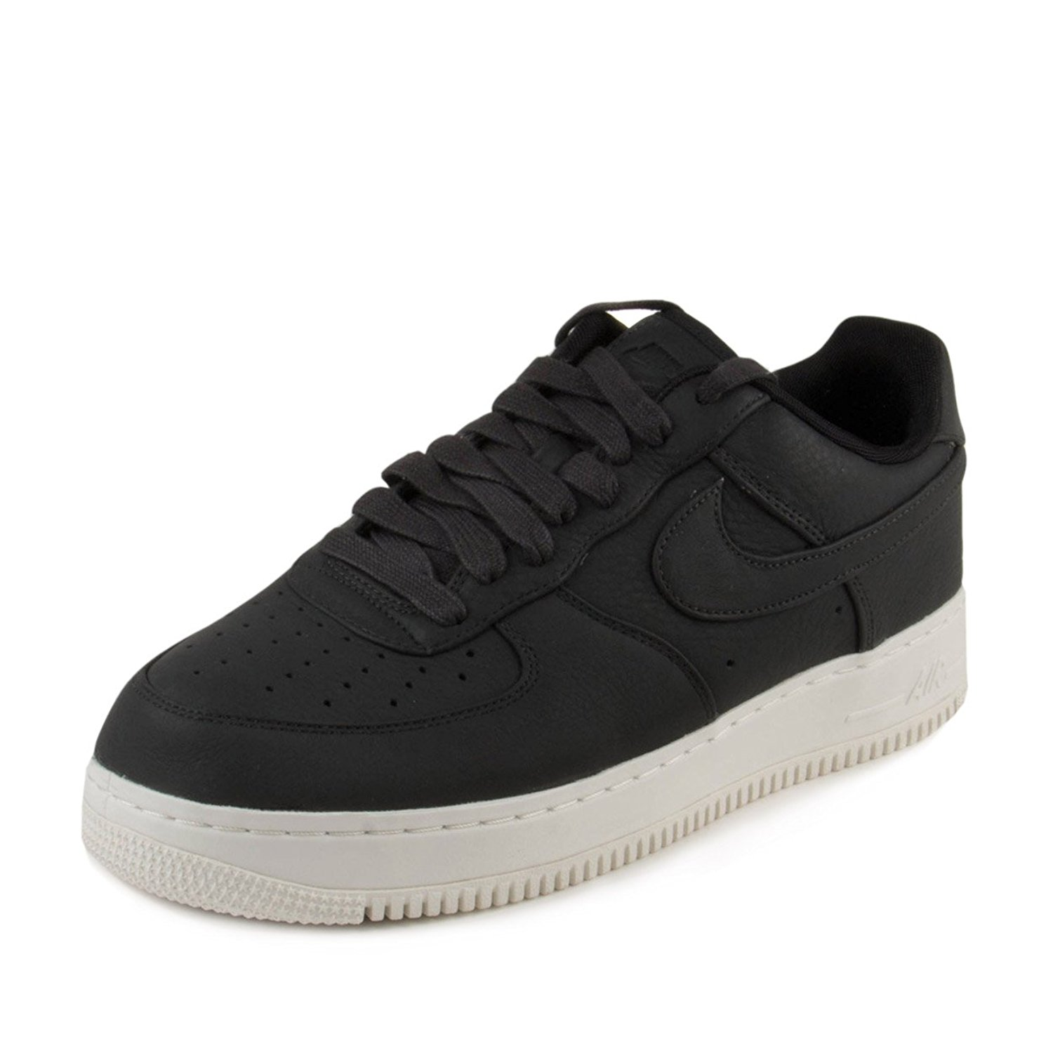c648ce3d9cd Get Quotations · Nike Mens Lab Air Force 1 Low Black Sail Leather