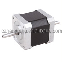 double shaft NEMA 17 3d printer stepping motor , micro 0.9 stepper motor bipolar stepper motor 42HS40MF-168B