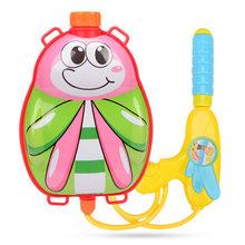 Летняя игрушка, водяной пистолет, детский водяной пистолет высокого давления, детские игрушки для игры в воду, пляж, детский мультяшный рюкз...(Китай)