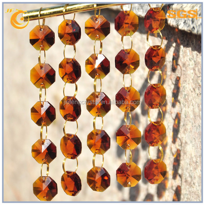 beads for jewelry making glass chandelier parts crystal octagon glass beads making machine