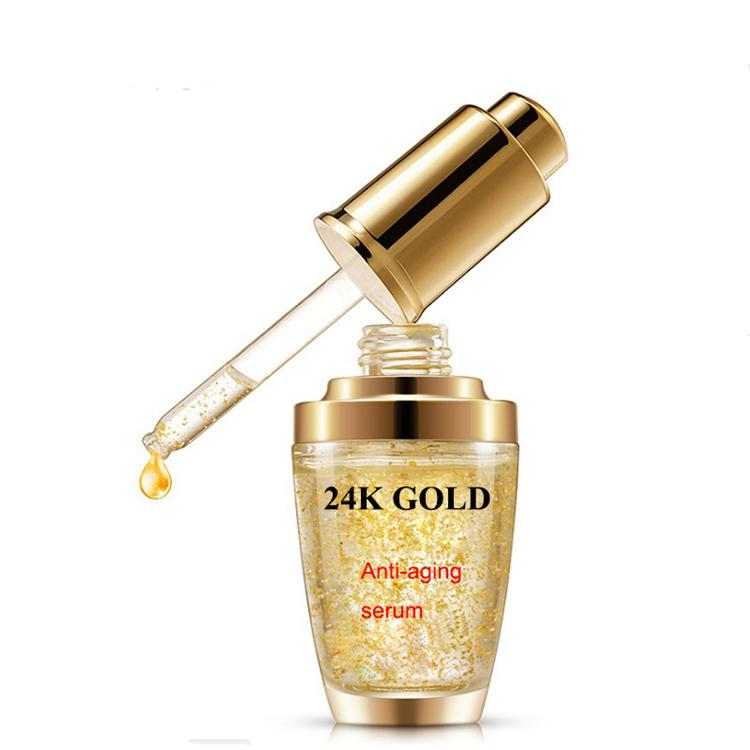 24K Gold EGF serum capsule anti-wrinkle repairing anti aging serum