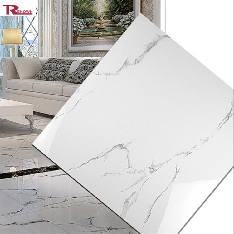Modern Hotel Lobby White Marble Tile High Quality Kitchen Ceramic Floor Product On