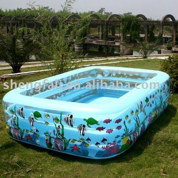 Big Square Shape Inflatable Swimming Pool,Blow Up Pool - Buy Blow Up  Pool,Square Inflatable Floats Pool,Large Swim Pool Product on Alibaba.com