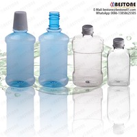 buy direct from china factory 120ml 150ml 220ml 250ml 300ml 350ml PET plastic mouth wash bottles