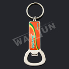 metal custom beer bottle opener keychain wholesale