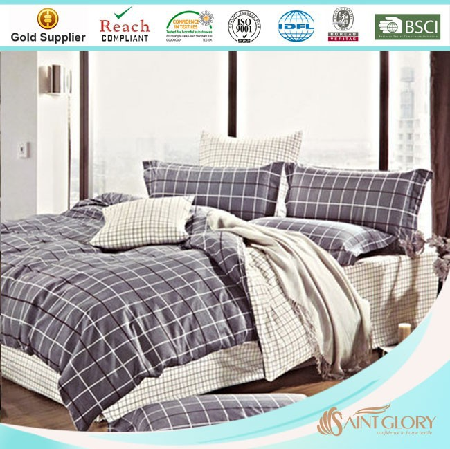 warm winter printed polyester stripe quilts for sale