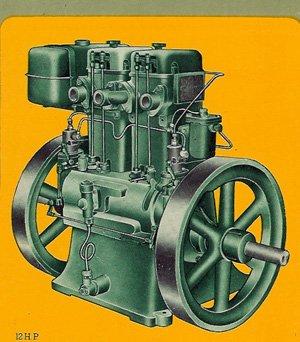 listeroid diesel engine generator