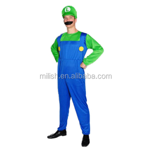 Party halloween adult carnival super mario and luigi costume MAB-55
