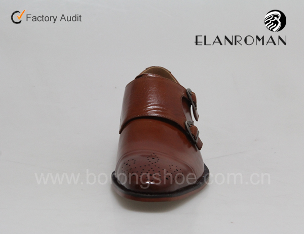 shoes double Men made shoes dress leather dress in manufacturer monk strap UqvdxYwUr