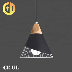 2018 new design china modern circular led iron hanging pendant light chandeliers