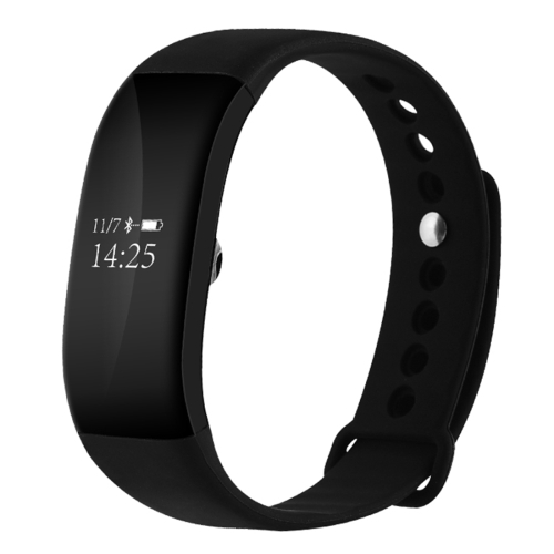 V66 0.66 inch Bluetooth Smart Bracelet, Support Heart Rate Monitor / Pedometer / Calls Remind / Sleep Monitor / Sports Monitor