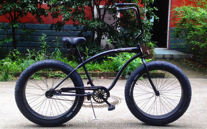 Fat Tire Beach Cruiser Bicycle Bikechopper Beach Cruiser Bicycle Bike40 Fa