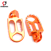 CNC pedal pit dirt bike spare parts footpeg CNC