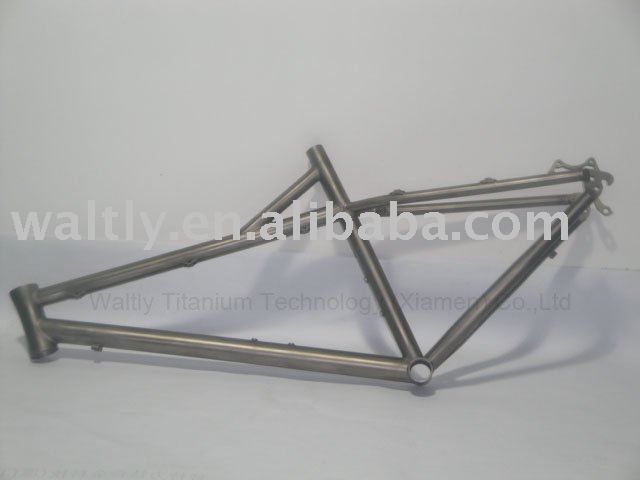 "20"" titanium bicycle frame for Kids"