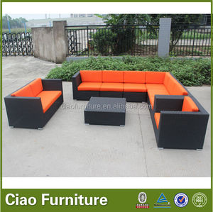 Wholesale cheap used patio furniture modern bedroom sofa set