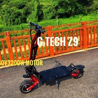 Gtech 3200W 13 inch good quality high speed electric scooter adult e scooter