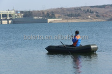 Excllent inflatable pontoon boat fishing boat for fishing