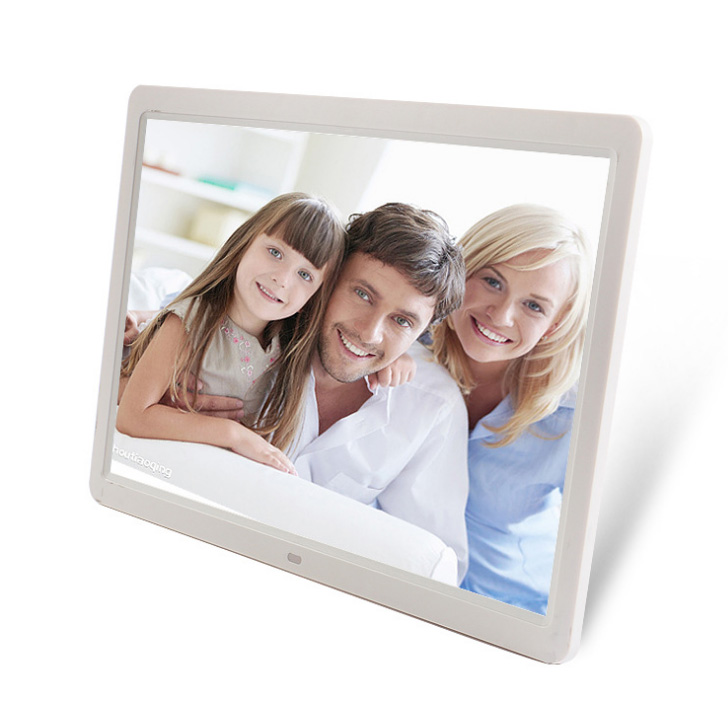 Wall mount 15.6 inch wifi digital photo frame rohs