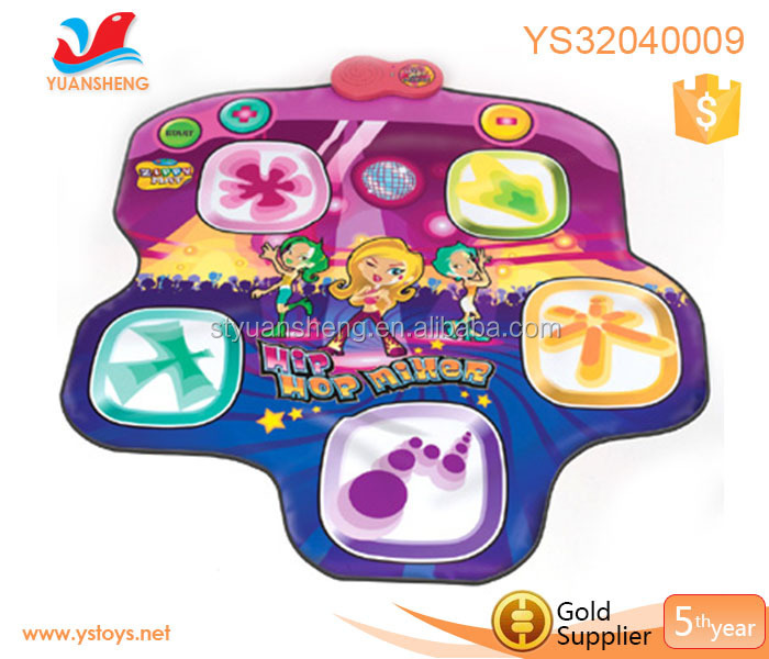 Portable Musical Toys Kids Drum Set 2 In 1 Baby Piano Mat