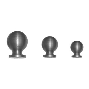 Wholesale wrought iron ornaments sphere forging steel custom hollow sphere