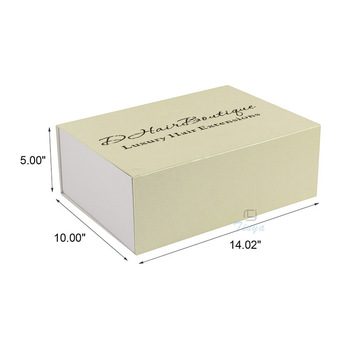 Foldable Mini Suitcase Clamshell Wedding Dress Box