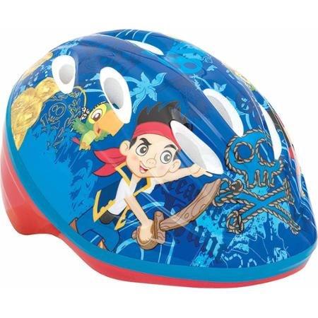 Disney Jake and the Never Land Pirates Self-Adjust Toddler Helmet With High-Impact Reflectors, For Boys 3 Years And Up, Blue