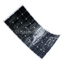 Hot Selling Portable waterproof mini flexible solar panel 12V with USB prot charge for mobile phone