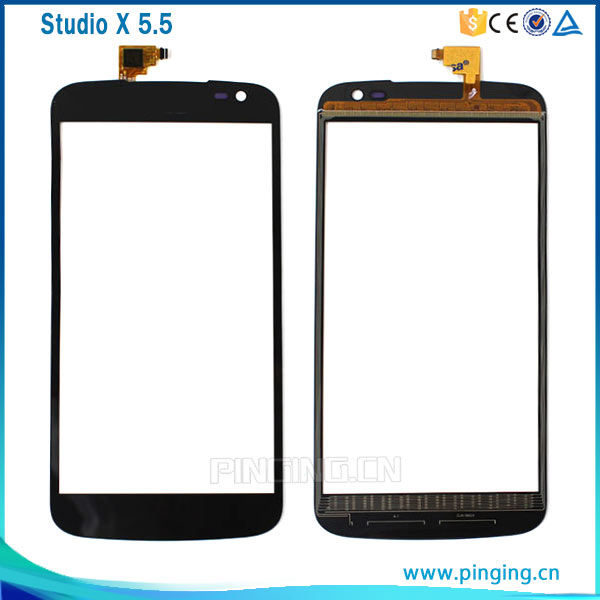 Cell phone spare parts touch screen digitizer glass panel for Blu studio x plus d770u touch screen
