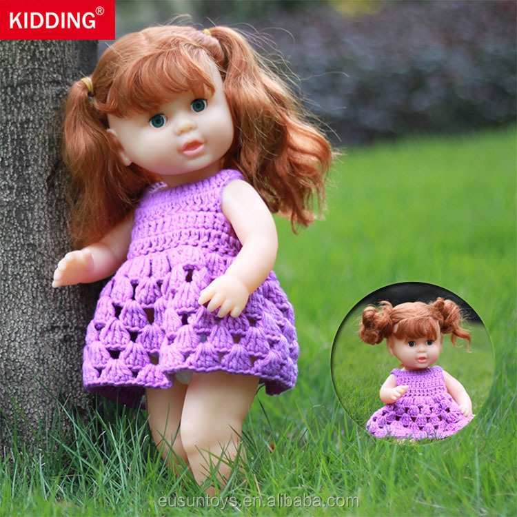 "15.7"" inches plastic cheap baby <strong>dolls</strong> toys wholesale"
