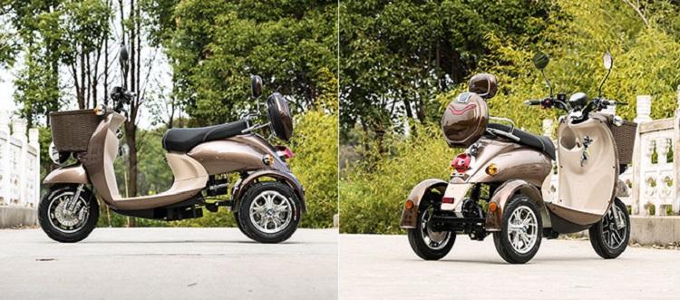 2017 neue herstellung drei räder großen reifen trike atv erwachsene dreirad 3 rad elektro-roller