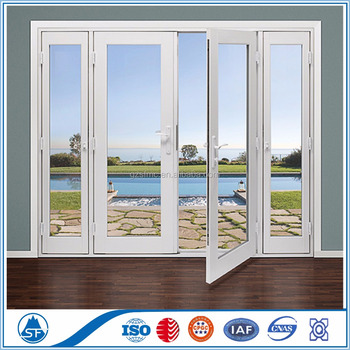 Alibaba China Supplier PVC Casement Windows With High Qualiy Iron Window Grill Design