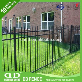 New Design White Aluminum Fence In Special Picket Design Rolltop - Buy  White Aluminum Fence In Special Picket Design,Ironcraft 3-rail Aluminum