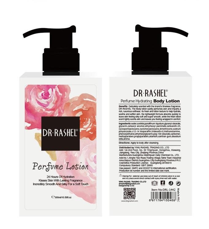 DR.RASHEL Hydration Lasting Fragrance Smooth Moisturizing Lotion Perfume Body Cream