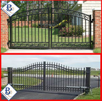 white galvanize farm gates for sale